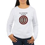 31ST INFANTRY DIVISION Women's Long Sleeve T-Shirt