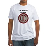 31ST INFANTRY DIVISION Fitted T-Shirt