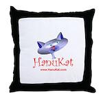 HanuKat Throw Pillow