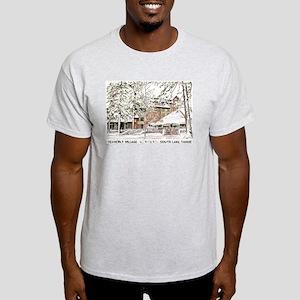 Heavenly Village~South Lake Tahoe Ash Grey T-Shirt