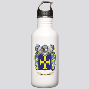 Mullins Coat of Arms - Family Crest Water Bottle