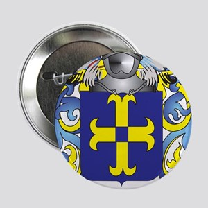 """Mullins Coat of Arms - Family Crest 2.25"""" Button"""