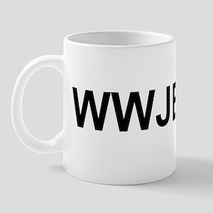 WWJBD Mug