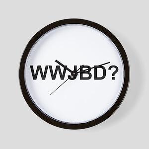 WWJBD Wall Clock