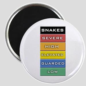 Snakes on a Plane Terror Alert Magnet