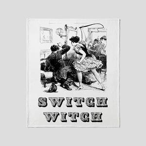 Switch Witch Throw Blanket