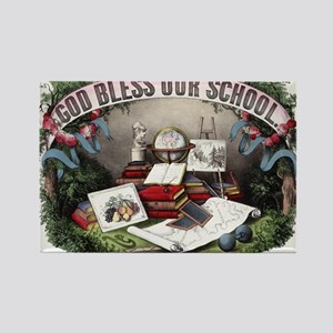 God bless our school - 1874 Magnets