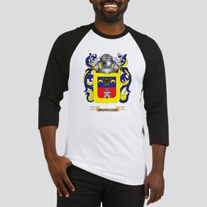 Munguia Coat of Arms - Family Crest Baseball Jerse