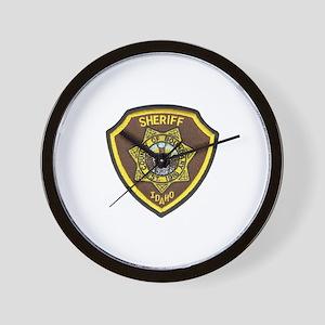 Boundry County Sheriff Wall Clock