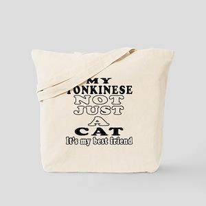Tonkinese Cat Designs Tote Bag