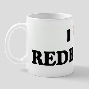 I Love REDBONES Mug