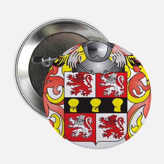 """Murphy Coat of Arms - Family Crest 2.25"""" Button"""