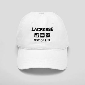 Eat Sleep Lacrosse Cap