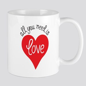 all you need is love Mugs