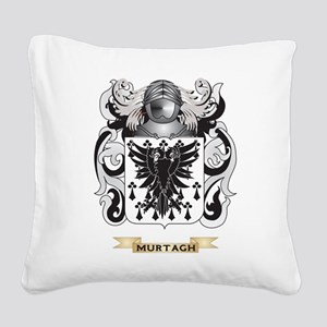 Murtagh Coat of Arms - Family Crest Square Canvas