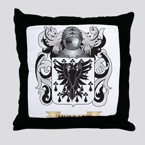 Murtagh Coat of Arms - Family Crest Throw Pillow