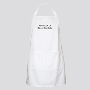Keep Out of Direct Sunlight BBQ Apron