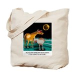 Eclipse Cartoon 9525 Tote Bag