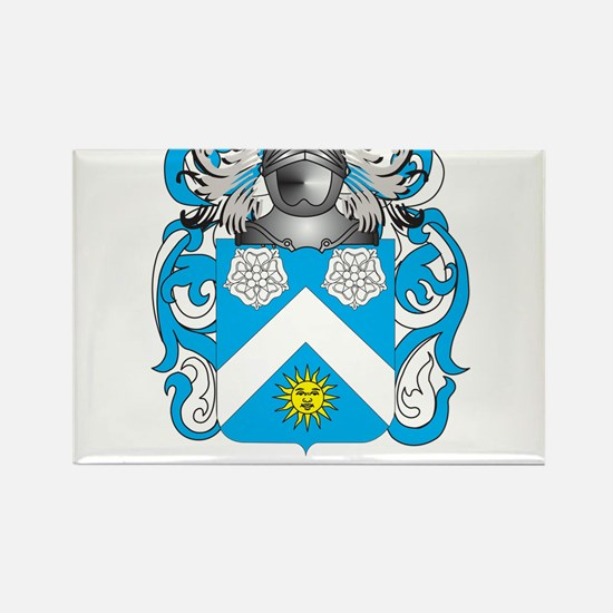 Mustard Coat of Arms - Family Crest Magnets