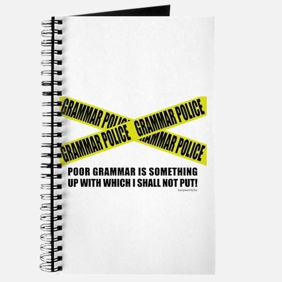 Grammar Police (2) Journal