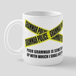 Grammar Police (2) Mug