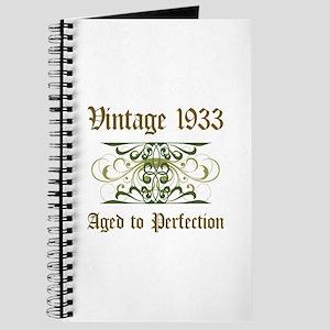 1933 Vintage Birthday (Old English) Journal