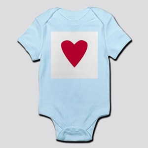 Red Heart Infant Creeper