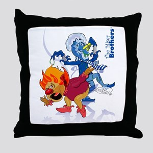 The Miser Brothers Throw Pillow