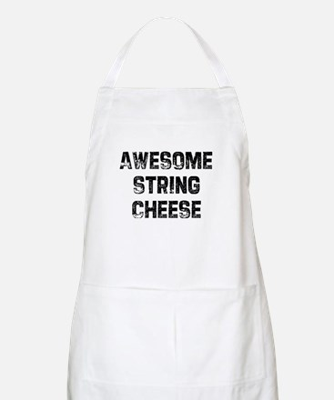 Awesome String Cheese BBQ Apron