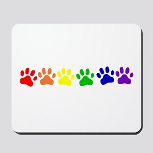 Rainbow Paws Mousepad