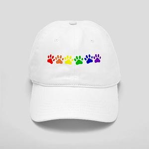 Rainbow Paws Cap