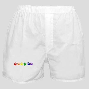 Rainbow Paws Boxer Shorts