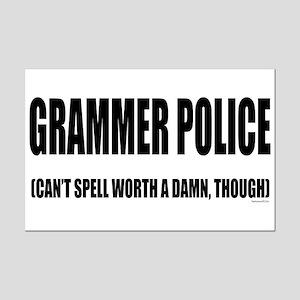Grammer Police Mini Poster Print
