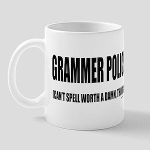 Grammer Police Mug