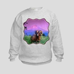 Big Horn Mount McLoughlin Kids Sweatshirt