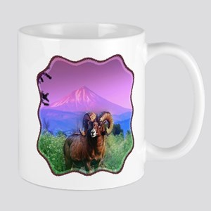 Big Horn Mount McLoughlin Mug