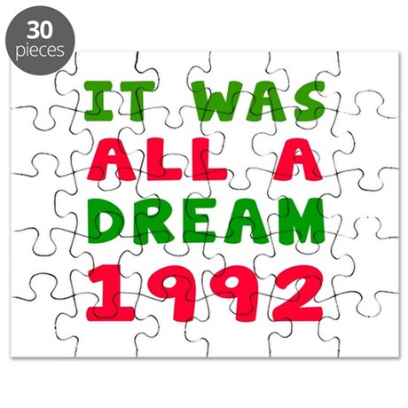 It Was All A Dream 1992 Puzzle