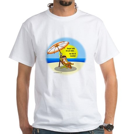 Hangin' with the Pet Sitter White T-Shirt