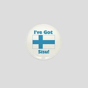 Finnish Sisu Mini Button