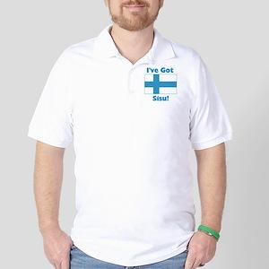 Finnish Sisu Golf Shirt