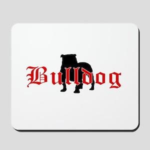 OE Bulldog Type Mousepad