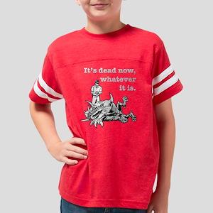 Dead Now a DVC Youth Football Shirt