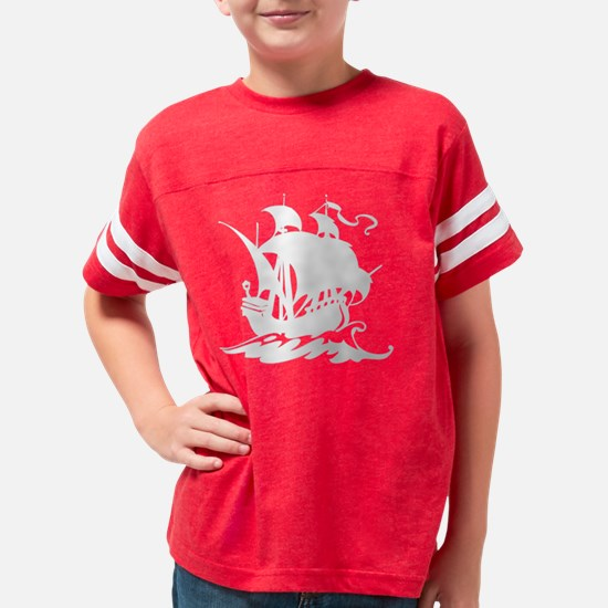 shipwhite Youth Football Shirt