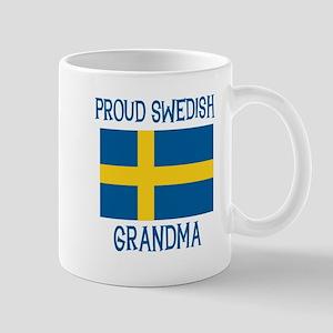 Proud Swedish Grandma Mug