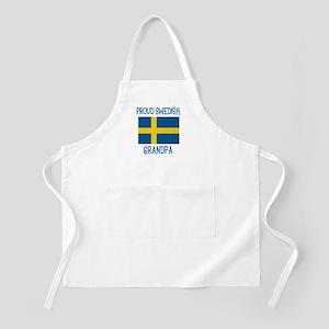 Proud Swedish Grandpa BBQ Apron