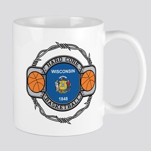 Wisconsin Basketball Mug