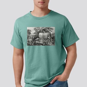 Haying-time the first load - 1868 Mens Comfort Col