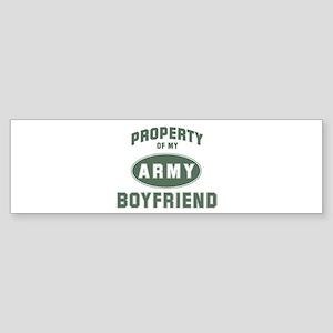 Property of my Boyfriend Bumper Sticker