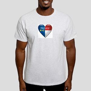 Love Hickory North Carolina Light T-Shirt