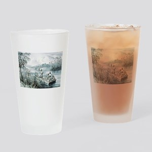 Floating down to market - 1870 Drinking Glass